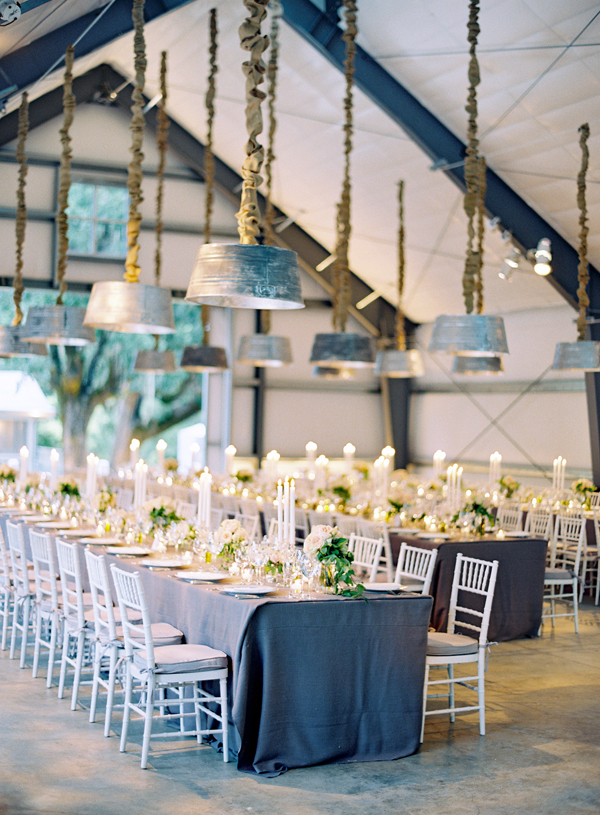 Shabby Chic wedding decor and tablescape