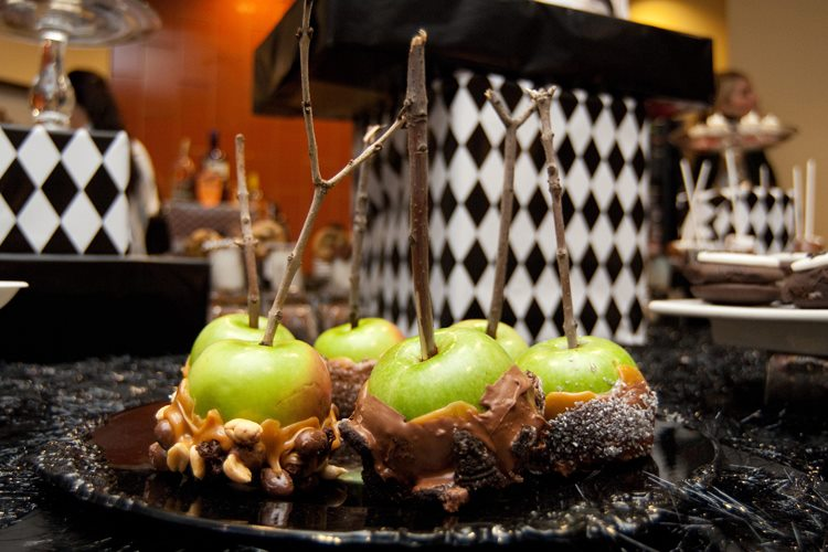 Halloween Party Caramel Apples-B. Lovely Events