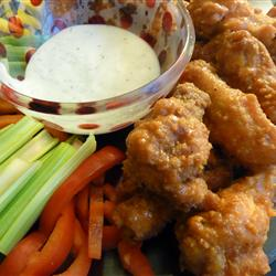 restaurant style wings, free recipe-blovelyevents.com