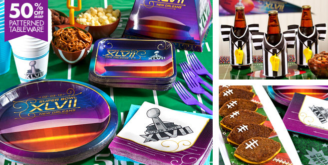 party city super bowl set-blovelyevents.com