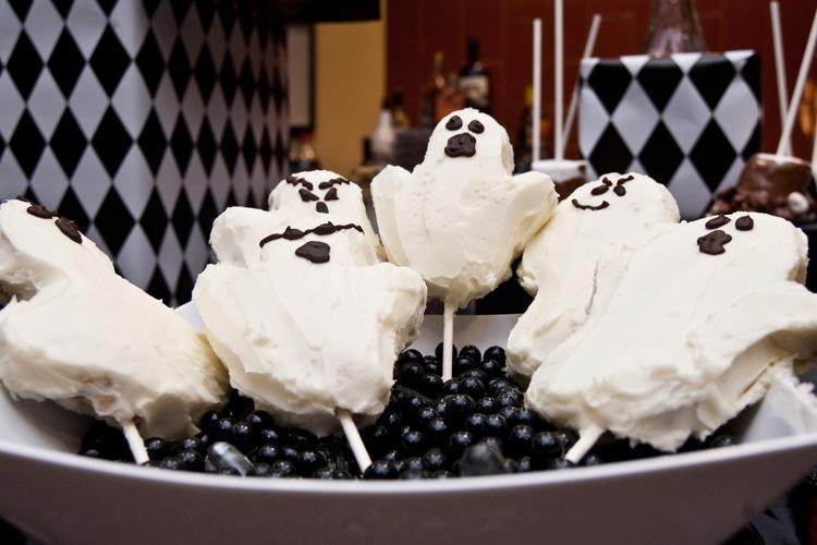 Halloween Party Ghost Rice Crispies-B. Lovely Events