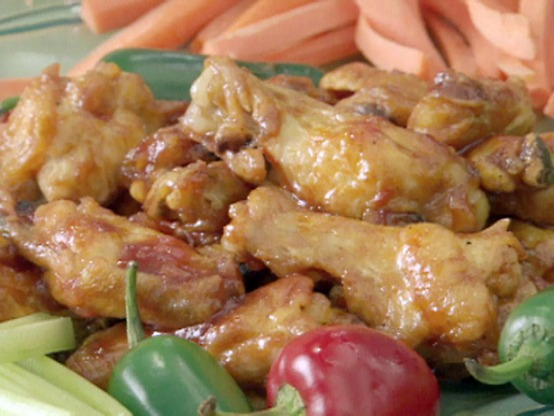 Bourbon Street Buffalo Wings, free recipe-blovelyevents.com