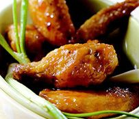 Sweet and spicy style wings, free recipe-blovelyevents.com