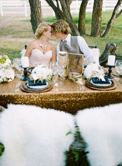Rustic Glam Wedding trend