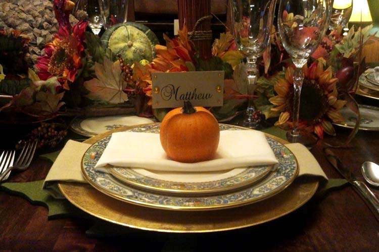 Thanksgiving place cards-B. Lovely Events