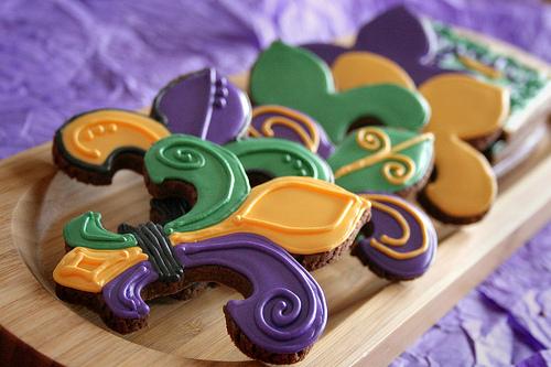 Fleur De Lis cookie