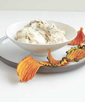 caramelized onion dip for super bowl party-blovelyevents.com
