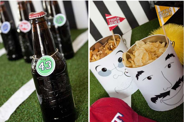 Super Bowl, Football Drink Tag printable ideas-more at blovelyevents.com