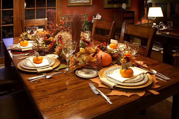 Beautiful Thanksgiving Table Design B Lovely Events