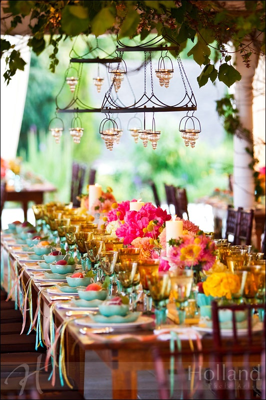 colorful tablescape that is so good for so many occasions