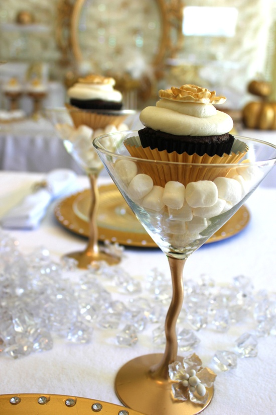 Cupcaketini for Oscar Party