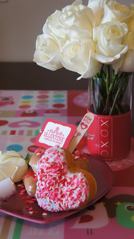 Valentines Day Doughnuts