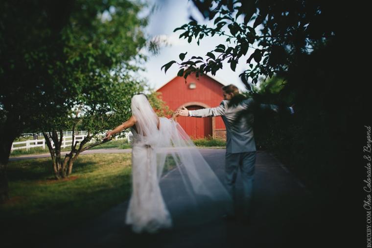 Final shot at wedding