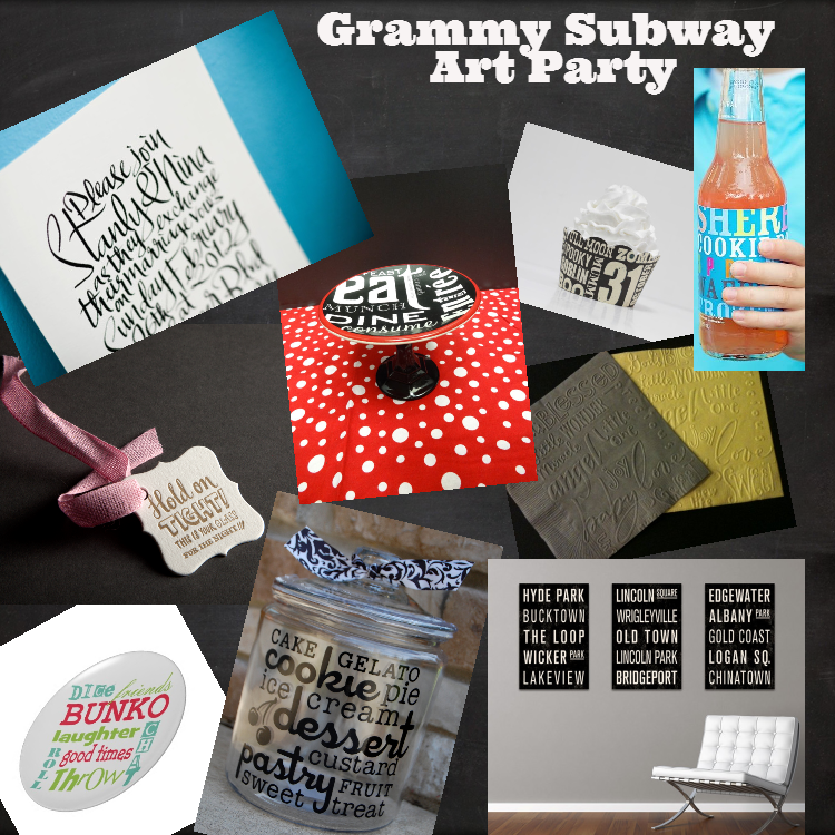 Grammy Subway Art Party