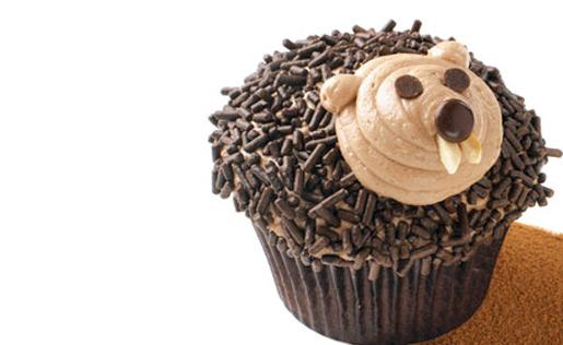 groundhog-cupcakes