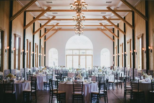 modern rustic barn wedding-blovelyevents.com