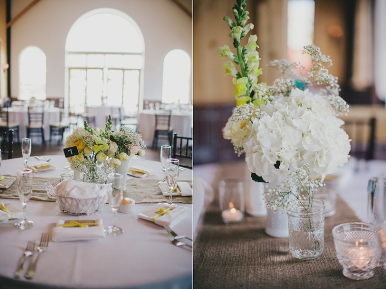 Barn wedding centerpieces-blovelyevents.com