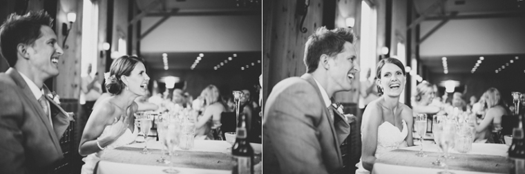 Toast shot at wedding