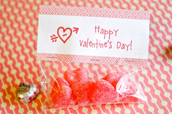 Valentine Treat topper