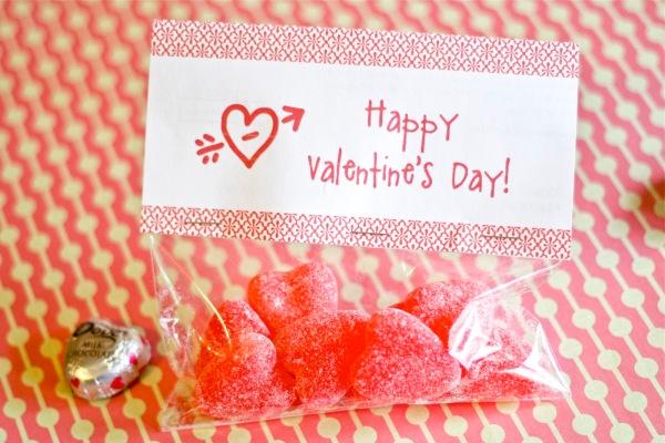 Valentine Treat topper