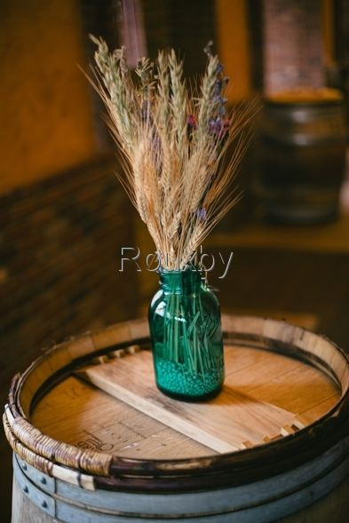 wheat wedding decor-B. Lovely Events