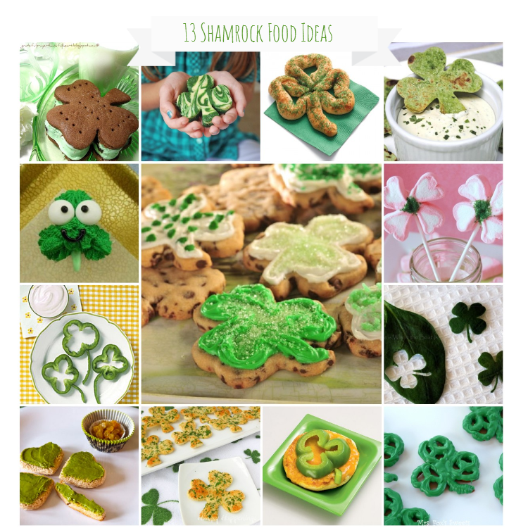 13 Shamrock Food Ideas for St. Patricks Day