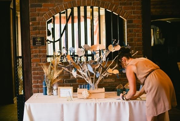 Rustic Wish tree guestbook-B. Lovely Events
