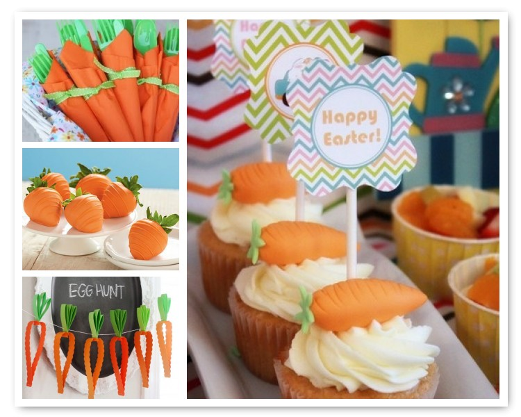 Easter Carrot decor ideas