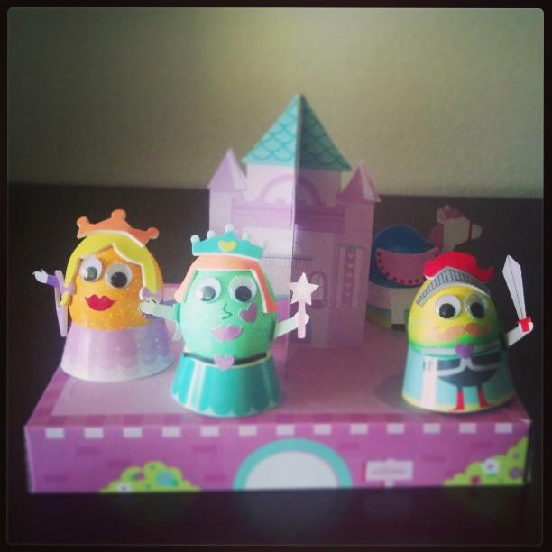 Easter Egg Castle