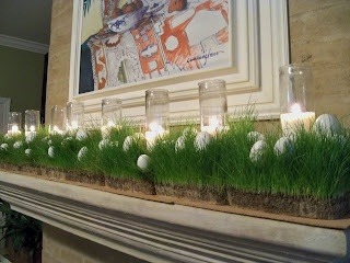 Easter grass mantle