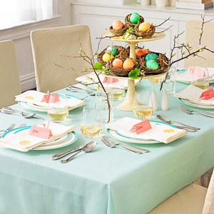 Easter Pastel table