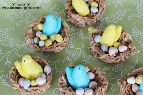 Peeps Easter Nest treats
