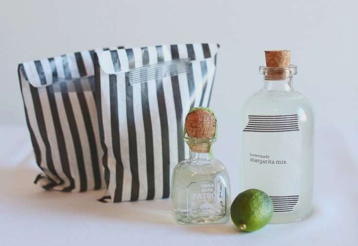 DIY Margarita Party Favors