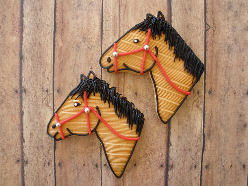 Horse Cookies for Kentucky Derby