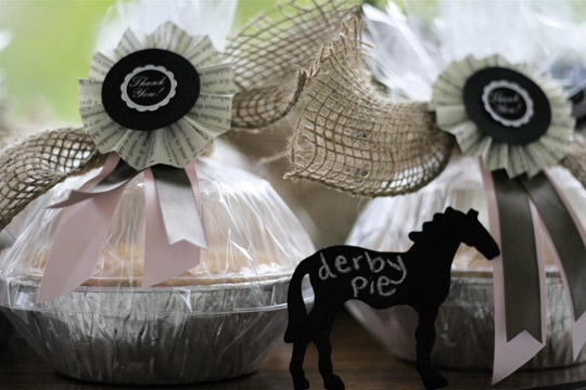 Horse food lables for Kentucky Derby Party
