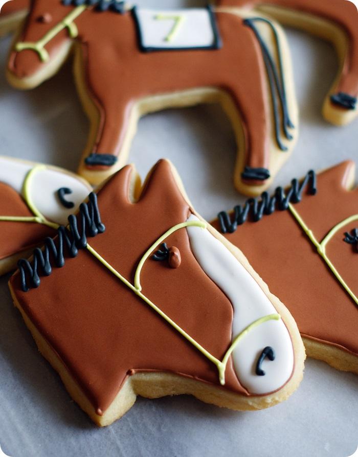 Kentucky Derby Horse Cookies