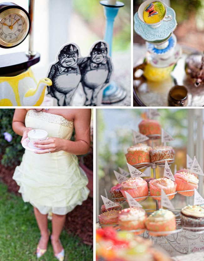 Mad matter tea party ideas for bridal showers