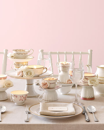 Tea cup centerpiece ideas for bridal shower