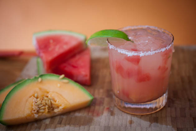 Watermelon Cantaloupe Margarita