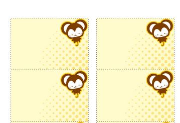 baby shower money labels