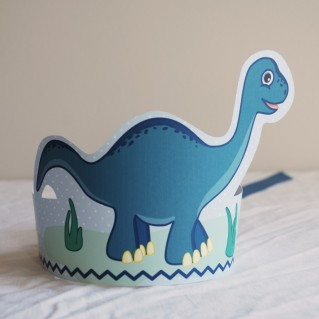 Dinosaur Party Crown