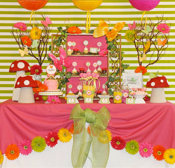 fairy party birthday party