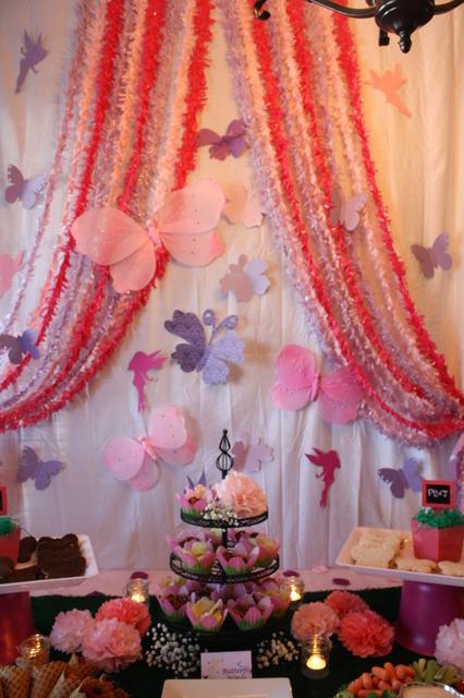 fairy party dessert bar