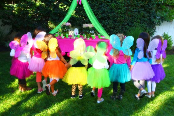 fairy party fairy wings and tutus