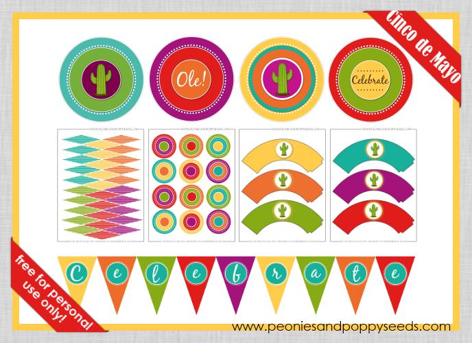 free cinco de mayo party decorations