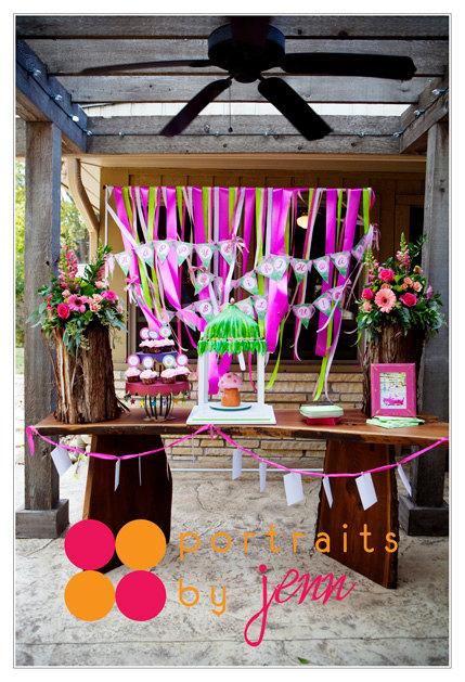 garden fairy birthday party