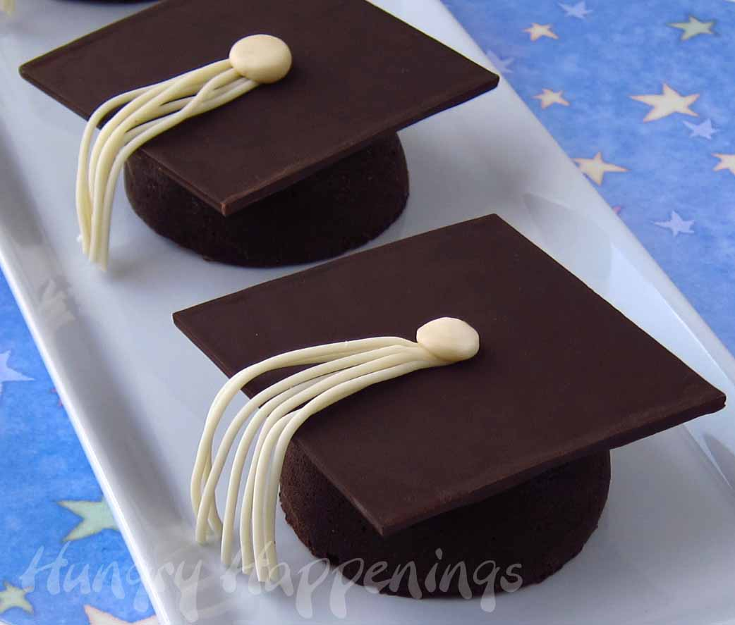 graduation-party-recipes-graduation-food-chocolate-caps-with-tassels ...