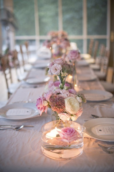 Lovely Soft and Elegant Tablescape