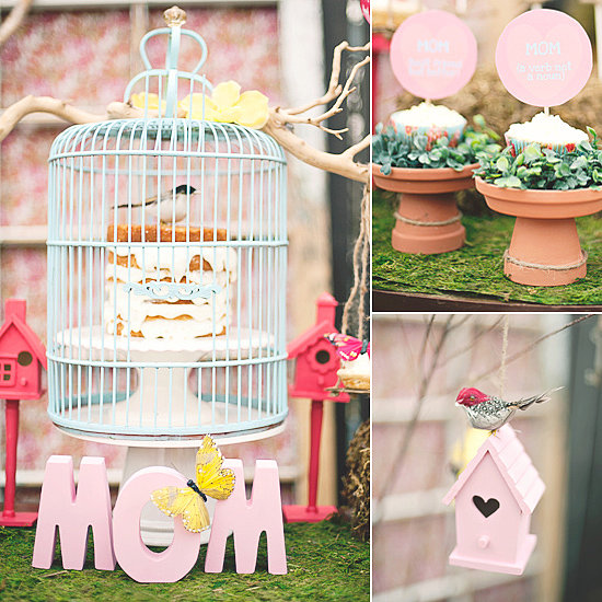 Mothers Day Party with mom decor