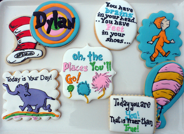 oh the places you'll go cookies